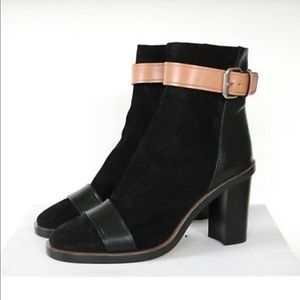 Isabel Marant Black Suede Boots - Size 37